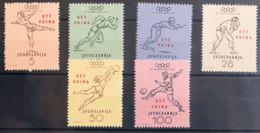 Trieste-Yugoslavia. MH *Yv 59/64. 1952. Serie Completa. MAGNIFICA. Yvert 2013: 40 Euros. - Sin Clasificación