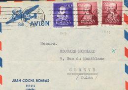 España. 2º Centenario Correo Aéreo. REUS / (58). MAGNIFICA. - Aéreo
