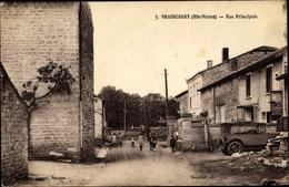 Cp Vraincourt Haute Marne, Rue Principale - Frankreich