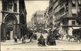 Cp Paris VIII., Rue Du Faubourg Saint Honoré Prise De La Rue Royale, Delettrez - Autres