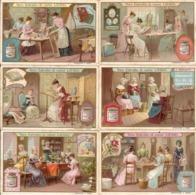 "(FI).Figurine Liebig.Serie""Lavori Femminili"".1908.Unificato N° 934.Val. 25,00 (131-a16) - Liebig"