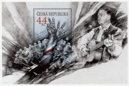 Czech Republic - 2019 - 30th Anniversary Of Velvet Revolution And Karel Kryl - Joint With Slovakia - Mint Souvenir Sheet - Tsjechië