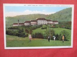 Golf  Grove Park Inn  Asheville  North Carolina > >  Ref 3714 - Asheville