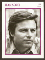 PORTRAIT DE STAR 1975 FRANCE - ACTEUR JEAN SOREL - ACTOR CINEMA FILM PHOTO - Fotos