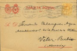 España. Murcia. Historia Postal. Murcia. Historia Postal. CRUZ ROJA. LORCA / (MURCIA). MAGNIFICA. - Sin Clasificación