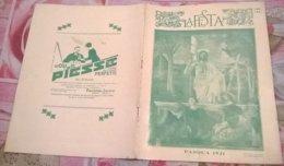LA FESTA PASQUA 1931 N. 19-20 5/4/31 GANDHI/PASQUA IN CALABRIA/CAMPOSANTO DI PISA/E. TITO/VIAGGIO POLARE DL NAUTILUS - Boeken, Tijdschriften, Stripverhalen