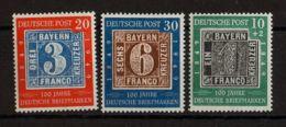 Alemania Bi-zona. MH *Yv 76/78. 1949. Serie Completa. MAGNIFICA. Yvert 2013: 70 Euros. - [1] ...-1849 Precursores