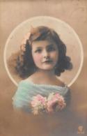 Carte CPA Fantaisie - Jolie Jeune Fille - Fillette - 1911 - Portraits