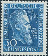 Alemania Occidental. MH *Yv 33. 1951. 30 P Azul. MAGNIFICO. Yvert 2011: 55 Euros. - [1] ...-1849 Precursores