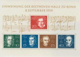 Alemania Occidental, Hoja Bloque. MNH **Yv 1. 1959. Hoja Bloque. MAGNIFICA. Yvert 2014: 50 Euros. - [1] ...-1849 Precursores