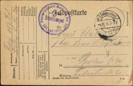 Alemania, Correo De Campaña / Militar. Sobre Yv . 1916. Tarjeta Postal Dirigida A BERLIN. MAGNIFICA. - Germany