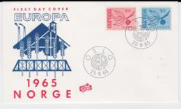 Norway 1965 FDC Europa CEPT (G105-42) - Europa-CEPT