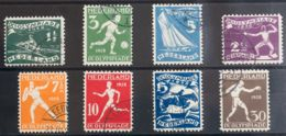 Holanda. ºYv 199/06. 1928. Serie Completa. MAGNIFICA. Yvert 2012: 55 Euros. - Holanda