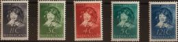 Holanda. MNH **Yv 299/03. 1937. Serie Completa. MAGNIFICA. Yvert 2012: 45 Euros. - Holanda