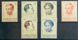 Luxemburgo. MNH **Yv 324/29. 1939. Serie Completa. MAGNIFICA. Yvert 2012: 50 Euros. - Sin Clasificación