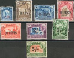 Adén-Q\'aiti. MH *Yv 20/27. 1951. Serie Completa. MAGNIFICA. (SG20/27 28£) Yvert 2015: 33 Euros. - Aden (1854-1963)