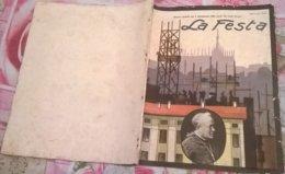 LA FESTA  N. 5 31/1/1926 NUMERO SPECIALE PER IL QUINQUENNIO DELLA MORTE DEL CARDINALE FERRARI - Boeken, Tijdschriften, Stripverhalen