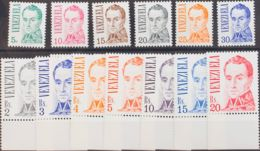 Venezuela. MNH **Yv 968/84. 1976. Serie Completa. MAGNIFICA. Yvert 2010: 42,5 Euros. - Venezuela