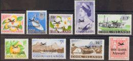 Cook, Aéreo. MNH **Yv 1/9. 1966. Serie Completa. MAGNIFICA. Yvert 2013: 45 Euros. - Islas Cook