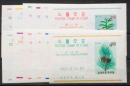Corea Del Sur, Hoja Bloque. MNH **Yv 79/90. 1965. Serie Completa De Las Hojas Bloque. MAGNIFICA. Yvert 2015: 45 Euros. - Corea Del Sur