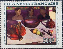 Polinesia, Aéreo. MNH **Yv 25. 1968. 200 F Multicolor. MAGNIFICO. Yvert 2014: 53 Euros. - Polinesia Francesa