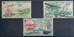San Pedro Y Miquelón. MNH **Yv 18/20. 1947. Serie Completa. MAGNIFICA. Yvert 2014: 45 Euros. - St.Pedro Y Miquelon