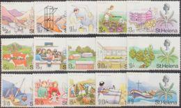 Santa Elena. MNH **Yv 195/09. 1968. Serie Completa. MAGNIFICA. Yvert 2009: 42,5 Euros. - St. Helena