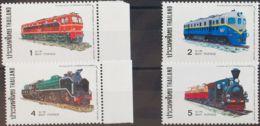 Tailandia. MNH **Yv 803/06. 1977. Serie Completa. MAGNIFICA. Yvert 2010: 40 Euros. - Tailandia