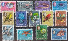 Tristán Da Cunha. MNH **Yv 55/67. 1963. Serie Completa. MAGNIFICA. Yvert 2010: 40 Euros. - Tristan Da Cunha