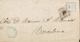 España. Amadeo I. Amadeo I. Tarifa De Impresos. MAGNIFICA. - 1872-73 Königreich: Amédée I.