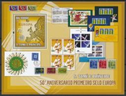 [401600]TB//**/Mnh-Sao Tomé-et-Principe 2006 - 50ème Anniversaire Du Premier Timbres Dans L'Europe - Musique