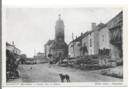 BASSIGNEY - Grande Rue Et L'Eglise - Otros Municipios