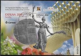 2018-ED. 5264 H.B. Exfilna 2018. Sevilla -USADO - Blocs & Hojas