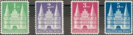 Alemania Bi-zona. MH *Yv 65/68. 1948. Serie Completa. MAGNIFICA. Yvert 2014: 75 Euros. - [1] ...-1849 Precursores