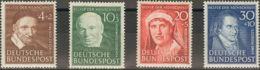 Alemania Occidental. MH *Yv 29/32. 1951. Serie Completa. MAGNIFICA. Yvert 2014: 80 Euros. - [1] ...-1849 Precursores
