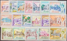 Bermudas. MNH **Yv 163/79. 1962. Serie Completa. MAGNIFICA. Yvert 2011: 50 Euros. - Bermudas