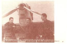 [MD3945] CPM - COLLEZIONE POSTALE ARTICA CON ANNULLO FIRME N° 28 1937 M.GROMOV A. HUMASHEV - PERFETTA - NV - Histoire