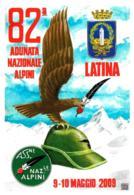 [MD3966] CPM - LATINA - ALPINI - 82° ADUNATA NAZIONALE ALPINI 2009 - CON ANNULLO 8.5.2009 - PERFETTA - NV - Reggimenti