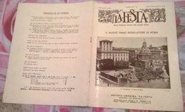 LA FESTA  N. 42-43 11/10/1931 NUOVO PIANO REGOLATORE DI ROMA/ CAMPANA DEI CADUTI DI ROVERETO - Boeken, Tijdschriften, Stripverhalen