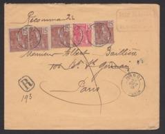 Indochina 1905 Mi 28 – 29 Hanoi To Paris - Indochina (1889-1945)