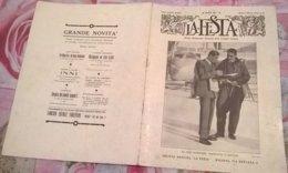 LA FESTA  N. 18 29/3/1931 EROI SCOMPARSI: MADDALENA E CECCONI / CERTOSA DI PAVIA - Boeken, Tijdschriften, Stripverhalen