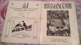 LA FESTA  N. 22 26/4/1931 FUNERALI DEL DUCA DI GENOVA / - Boeken, Tijdschriften, Stripverhalen