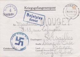 PRISONNIER DE GUERRE - STALAG VI G - CROIX GAMMEE - 1941 - WW II