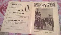 LA FESTA  N. 25 17/5/1931 I PRINCIPI DI PIEMOTNE AL PALIO DI ASTI/ TOMMASO DI SAVOIA - Libros, Revistas, Cómics