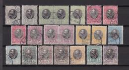 Serbien - 1905 - Michel Nr. 84/94 - Serbien