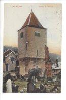 23593 - Vallée De Joux Clocher De L'Abbaye + Cachet Le Lieu 1912 - VD Waadt