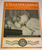 ILL. ITALIANA N.23 6/6/37 BATTESIMO PRINC. NAPOLI/VON BLOMBERG/GUERRA DI SPAGNA/FESTA LEGIONI/MILANO/E.POWEL/CARROCCIO - Boeken, Tijdschriften, Stripverhalen