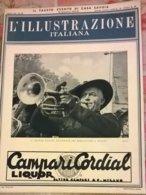ILL. ITALIANA N.39 30/9/34 RADUNO BERSAGLIERI A MILANO/ PREMIAZIONE PIONIERI BONIFICA PONTINA/ D. NICCODEMI - Boeken, Tijdschriften, Stripverhalen