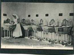 CPA - NEUVILLE SOUS MONTREUIL SUR MER - Hôpital Belge - La Chartreuse - La Pouponnière, Animé - Montreuil