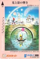 CULTURE - PEINTURE - TABLEAU - DESSIN - ART - PEINTRE - Carte Prépayée Japon - Pittura